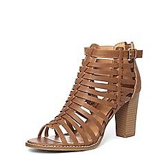 Dorothy Perkins - Tan 'sand' gladiator sandals