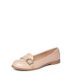 Dorothy Perkins - Nude 'Lark' studded loafers