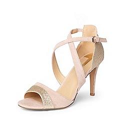 Dorothy Perkins - Blush 'sasha' occasion heeled sandals