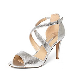 Dorothy Perkins - Silver 'sasha' occassion heeled sandals