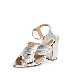 Dorothy Perkins - Silver spring cross over heel sandals
