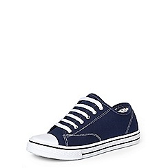Dorothy Perkins - Navy 'carla' lace up trainers