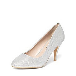 Dorothy Perkins - Silver 'claudia' workwear courts