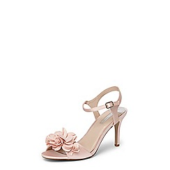 Dorothy Perkins - Blush 'Special' corsage sandals
