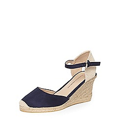 Dorothy Perkins - Navy Venicey wedges