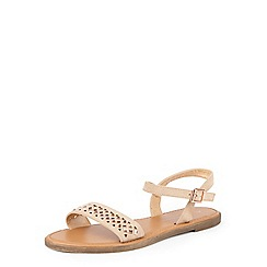 Dorothy Perkins - Nude 'fifi' gem stone sandals