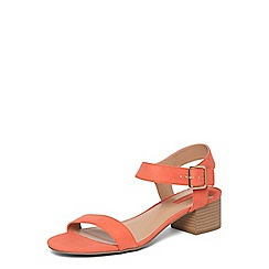 Dorothy Perkins - Coral 'Sheryl' low sandals