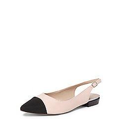 Dorothy Perkins - Nude hobby slingback shoes