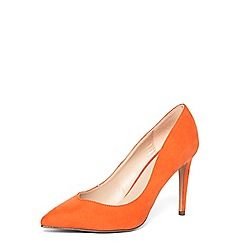Dorothy Perkins - Orange 'Evie' v-topline court