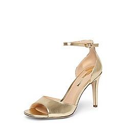 Dorothy Perkins - Gold 'Shay' sandals