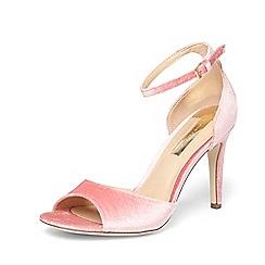Dorothy Perkins - Pink 'shay' 2 part heeled sandal