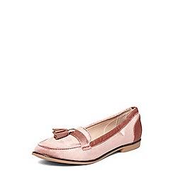 Dorothy Perkins - Rose 'logan' velvet penny loafers
