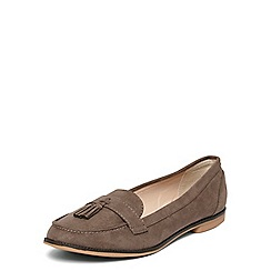 Dorothy Perkins - Taupe 'logan' penny loafers