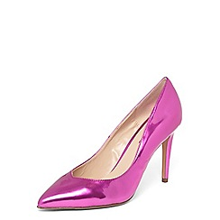 Dorothy Perkins - Pink metallic 'Evie' court shoes
