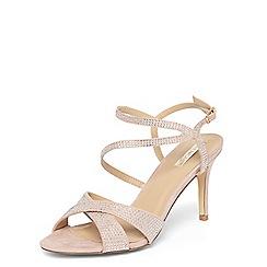 Dorothy Perkins - **Showcase blush 'Sprinkle' sandals