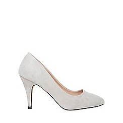 Dorothy Perkins - Online exclusive grey 'Claudia' court shoes
