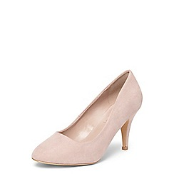 Dorothy Perkins - Blush 'Claudia' workwear court shoes
