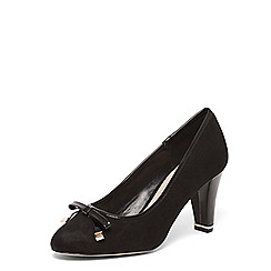 Dorothy Perkins - Black 'carole' metal bow court