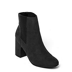 Dorothy Perkins - Black 'anya' heeled boots