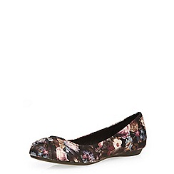 Dorothy Perkins - Floral print swish detail pump