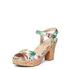 Dorothy Perkins - Print romana platform sandals