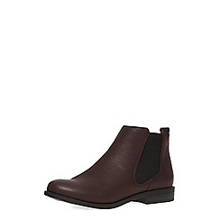Dorothy Perkins - Oxblood chelsea boots