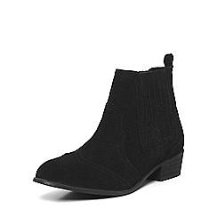 Dorothy Perkins - Black 'nakita' western boots