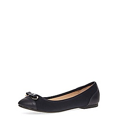Dorothy Perkins - Navy bow detail pumps