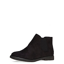Dorothy Perkins - Black suedette chelsea boot