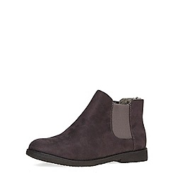 Dorothy Perkins - Grey suedette chelsea boots