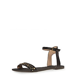 Dorothy Perkins - Black studded sandals