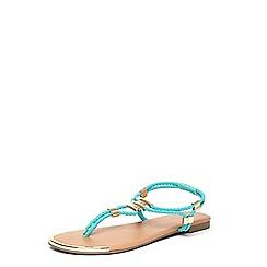 Dorothy Perkins - Green 'Fern' stretch sandals