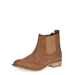 Dorothy Perkins - Tan ankle boots