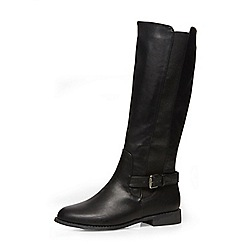 Dorothy Perkins - Black knee-high boots