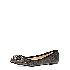 Dorothy Perkins - Pewter niscose bling pumps