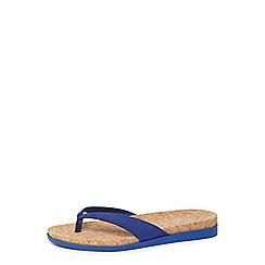Dorothy Perkins - Blue comfort 'Fiona' sandals