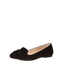 Dorothy Perkins - Black 'heather' slipper pumps