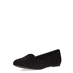 Dorothy Perkins - Black 'hixx' slipper pumps