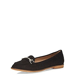 Dorothy Perkins - Black 'liza' loafers