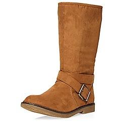 Dorothy Perkins - Tan 'brighton' boots