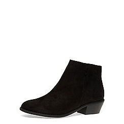 Dorothy Perkins - Black 'belle' praire boots