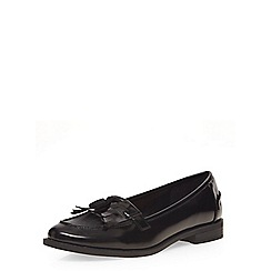 Dorothy Perkins - Black 'lama' loafers