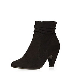 Dorothy Perkins - Black 'melonie' rouche boots