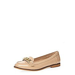 Dorothy Perkins - Nude 'lucia' loafers