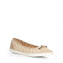 Dorothy Perkins - Nude 'carrie' sporty pumps