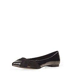 Dorothy Perkins - Black 'hattie' swish pumps
