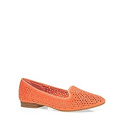 Dorothy Perkins - Orange 'hedge' slipper pumps