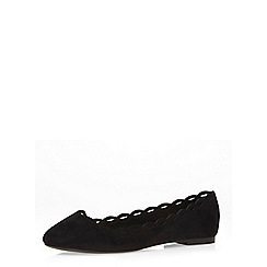 Dorothy Perkins - Black 'postie' pumps