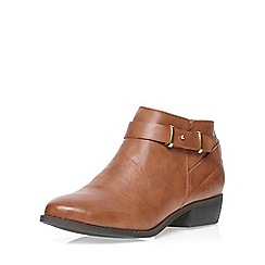 Dorothy Perkins - Tan 'monday' ankle boots