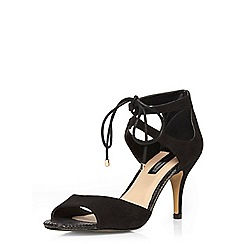 Dorothy Perkins - Black sapphire lace up sandals